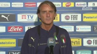 """Mancini: """"I ragazzi sono in buone condizioni"""""""