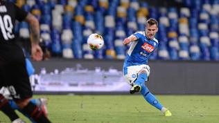 Roma-Milik, sì del giocatore. Giovedì incontro decisivo. Dzekoverso la Juve