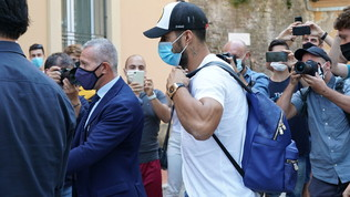 Suarez torna sui banchi, esame d'italiano a Perugia