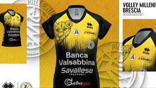 Le leonesse di Brescia tornano a ruggire con le nuove divise
