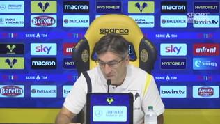 """Juric: """"Con la Roma non so chi far giocare"""""""
