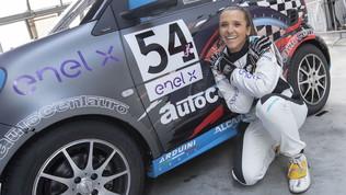 Arianna Casoli torna sulla Autocentauro a Binetto