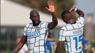 Inter-Carrarese7-0, le foto dell'amichevole ad Appiano Gentile