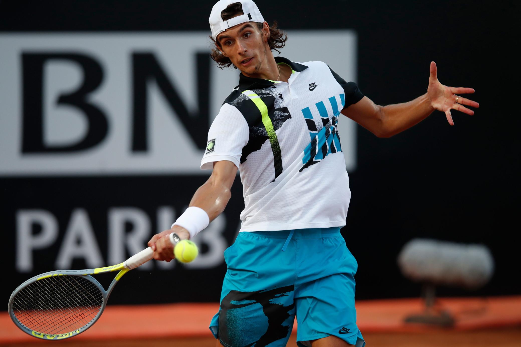 Tennis, Masters 1000 Roma: Berrettini unico azzurro ai quarti, out Musetti  e Sinner