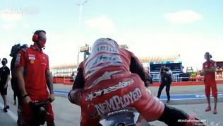 """Dovi, """"disoccupato"""" di lusso in Ducati"""