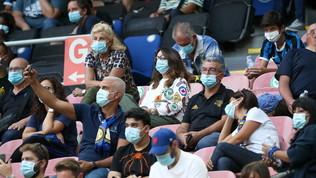 Inter, riecco i tifosi: a San Siro dopo 220 giorni