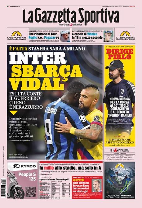 Le prime pagine, e non solo, dei quotidiani italiani ed esteri in edicola<br /><br />
