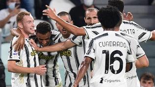 La Juve non sbaglia, tris alla Samp: per Pirlo buona la prima