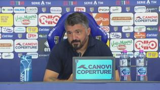 """Gattuso: """"Osimhen può dare tanto ma serve equilbrio"""""""