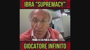 """Pellegatti: """"Ibra supremacy, giocatore infinito"""""""