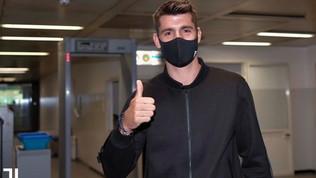 Juve, Morata torna in bianconero: visite mediche a Torino e poi la firma