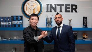 """Vidalè ufficialmente nerazzurro: """"Inizio con entusiasmo, grazie Inter"""""""