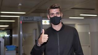 """Morata: """"La Juve è come una famiglia. Torno migliorato"""""""