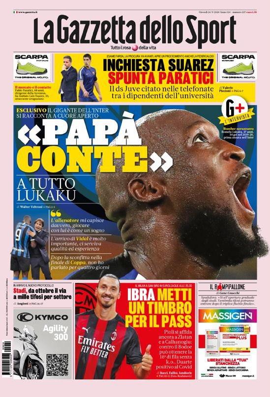 La rassegna stampa dei quotidiani sportivi italiani ed esteri.<br /><br />