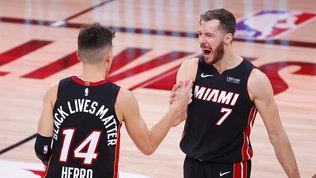 Herro decisivo dalla panchina: Miamiva sul 3-1 e vede le Finals