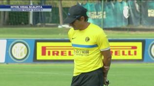 Inter, Vidal scalpita