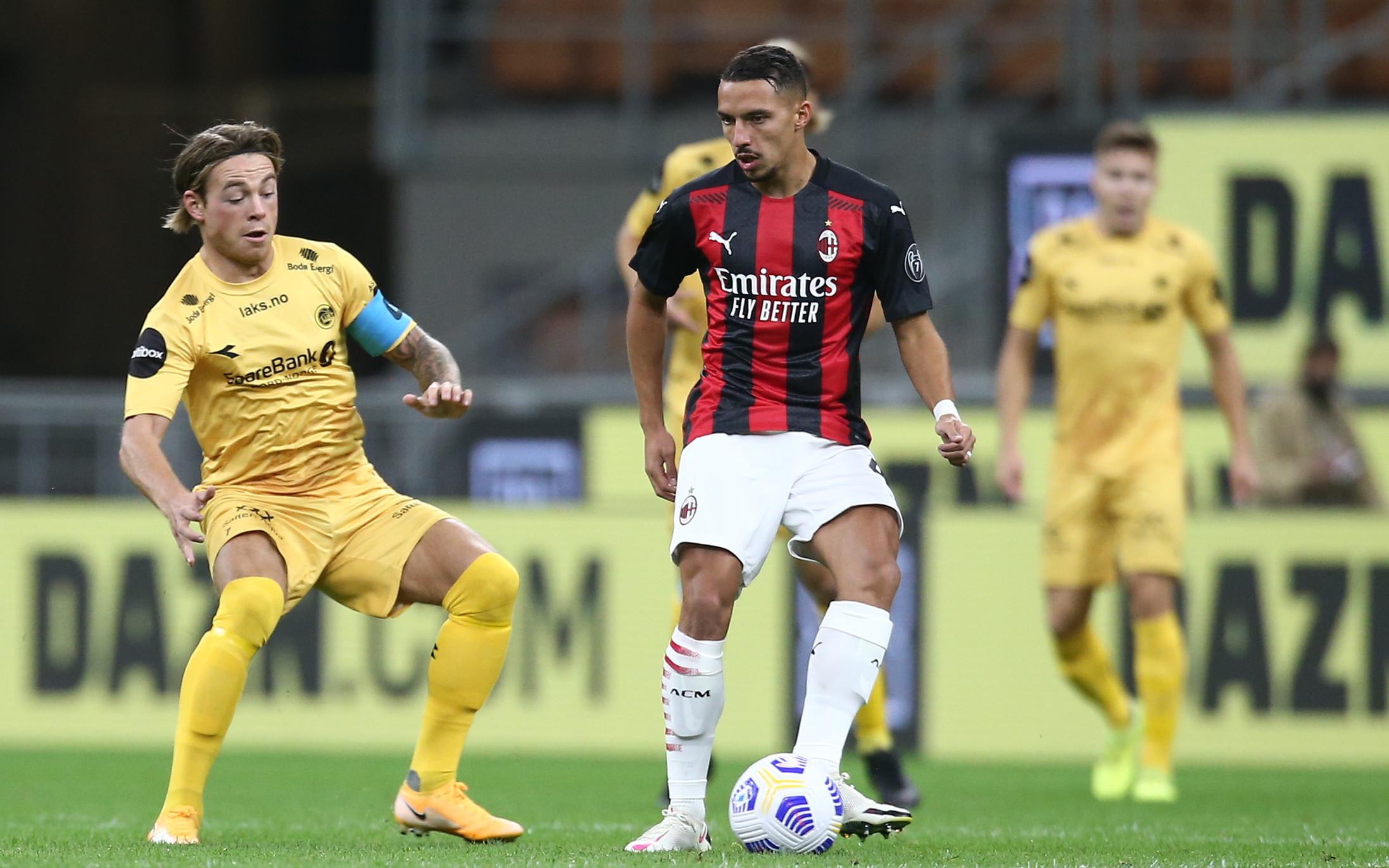 Milan-Bodo/Glimt 3-2, il match in immagini<br /><br />
