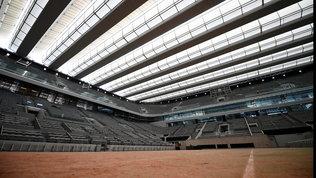 Covid-19, Roland Garros ridotto a 1.000 spettatori al giorno