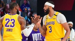 LeBrona un passo dalle Finals, Lakers ok con Davis