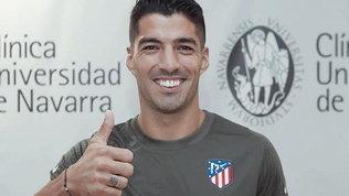 Visite mediche con l'Atletico Madrid per Luis Suarez