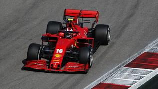 """Leclerc: """"Tempi migliori del previsto, ma ancora problemi di bilanciamento"""""""