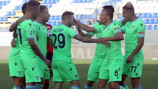 Cagliari-Lazio, le immagini della sfida della Sardegna Arena