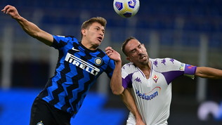 Inter-Fiorentina, le immagini del match