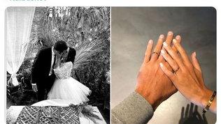 Basket Nba, Belinelli ha sposato la sua Martina