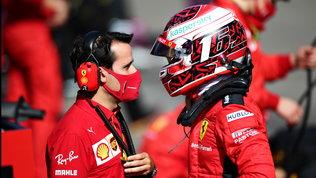 """Leclerc: """"Siamo sulla strada giusta"""". Vettel punge: """"La macchina non va"""""""