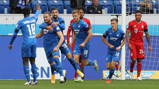 Hangover Bayern, l'Hoffenheim vince e va in testa