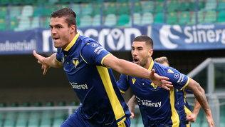 Il Verona a punteggio pieno: un gol di Favilli piega l'Udinese