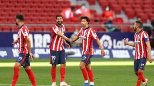 L'Atletico è scatenato, Suarez fa subito doppietta. Poker del Barça