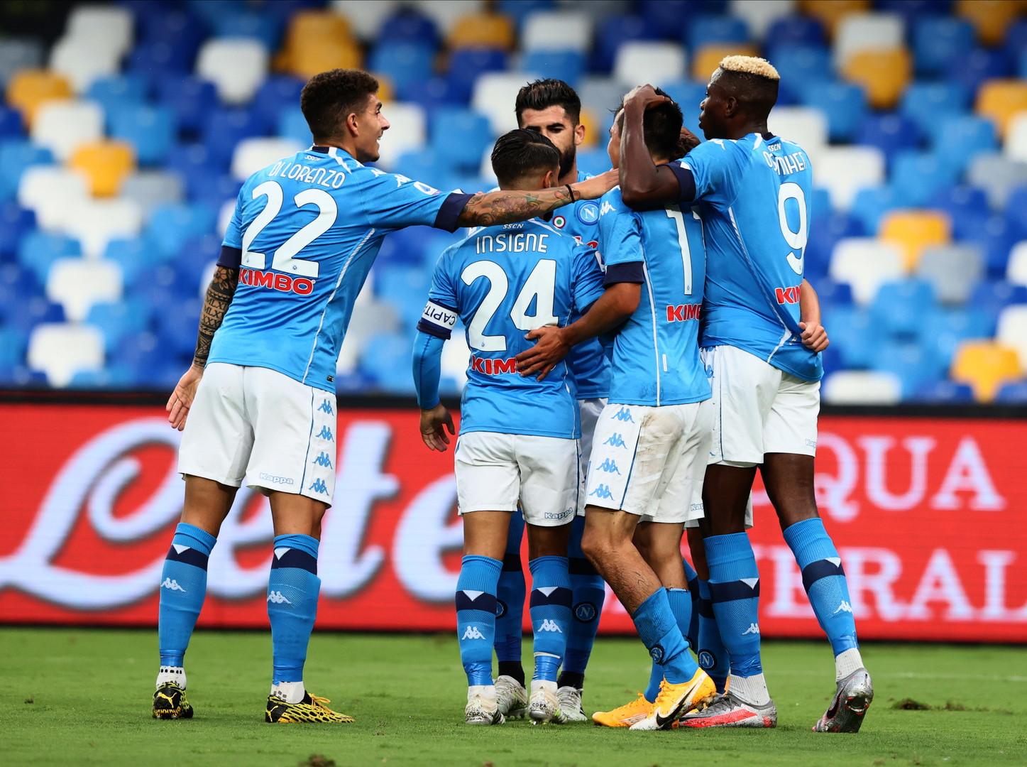 Gli azzurri vincono 6-0 contro i rossobl&ugrave; di Maran<br /><br />