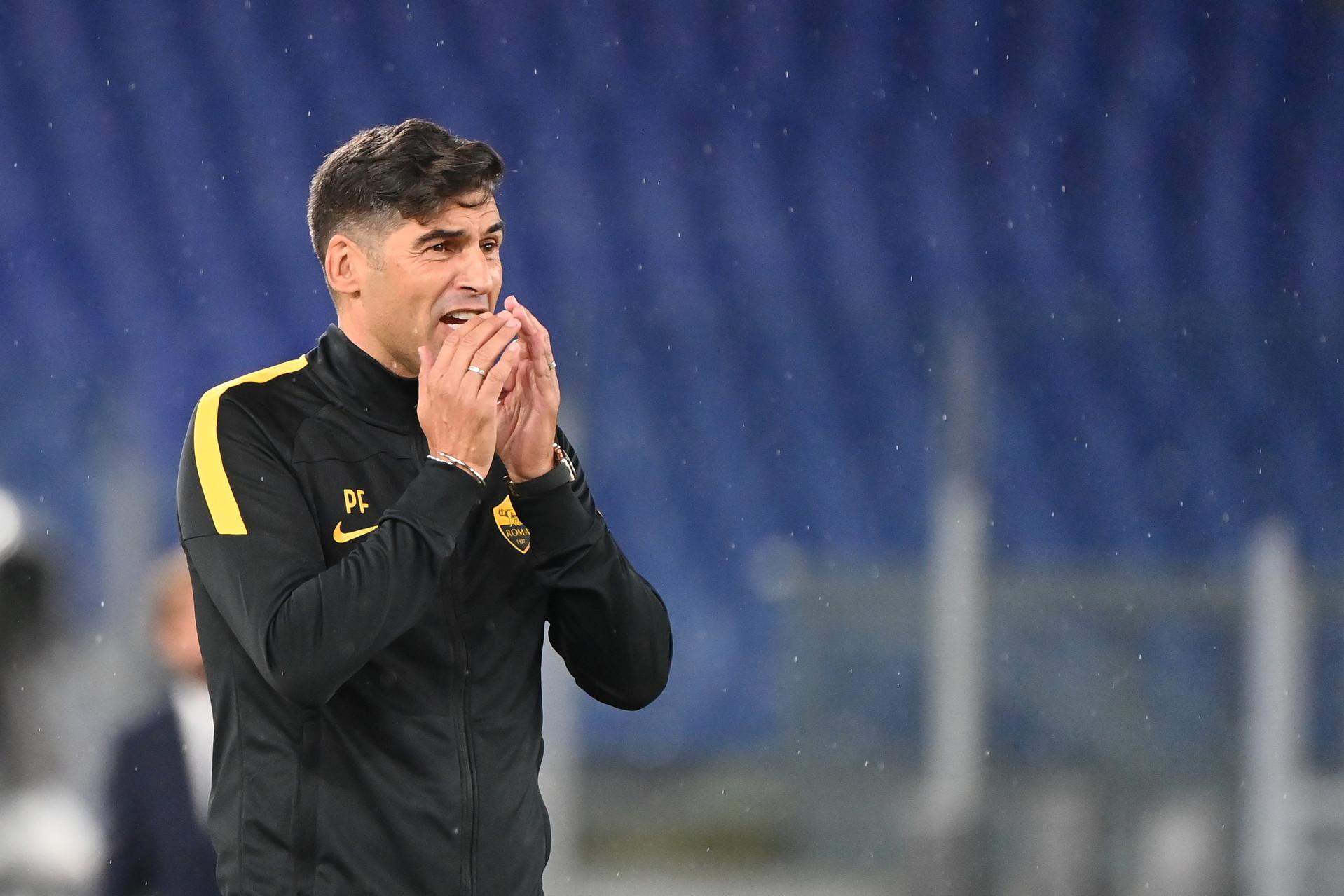 Roma Fonseca Soddisfatto Della Prestazione Non Del Risultato News Sportmediaset