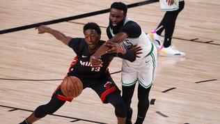 Adebayotrascina Miami alle Finals: sfida coi Lakers per il titolo