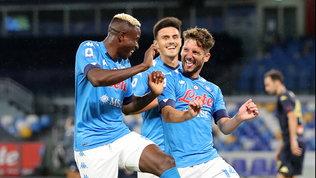 Il Napoli di Gattuso cambia pelle e si diverte. Ma Insigne preoccupa