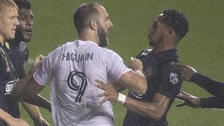 Higuain, esordio in MLS con rigore sbagliato