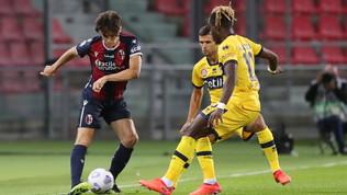 Bologna-Parma, le immagini del match