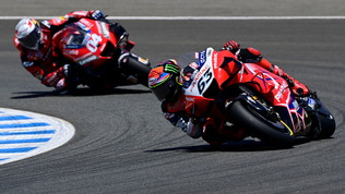 La Ducati ha deciso: Bagnaia al posto di Dovi. Zarco e Martin con Pramac