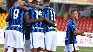 Benevento-Inter, le immagini del match