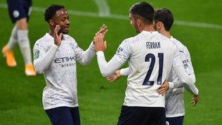 Carabao Cup: City, United ed Everton ai quarti