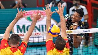 Leon è di un altro pianeta: Vibo lotta, ma Perugia vince 3-0