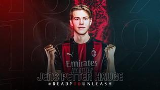Milan, ora è ufficiale: Haugefino al 2025 . Avrà la maglia numero 15