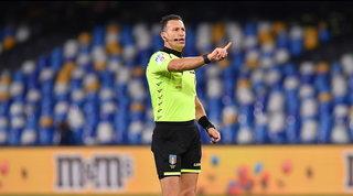 Serie A, gli arbitri del terzo turno: Juve-Napoli a Doveri, Lazio-Inter a Guida