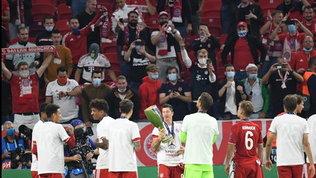 """La Uefa riapre gli stadi, sì al 30% della capienza: """"Il primo passo"""""""