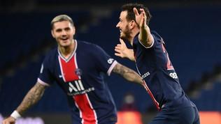 Florenzi apre le danze con una magia, poi ilPsg si scatena: 6-1 all'Angers