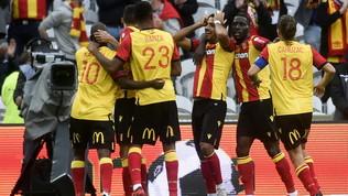 Il Saint-Etienne in rosso, Lens in vetta col Rennes   Alle 21 Nizza-Nantes