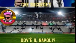 Rinvio o no? I tifosi di Juve e Napoli si danno battaglia sui social