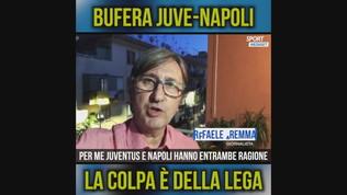 "Juve-Napoli, Auriemma: ""Ce l'ho con la Lega"""