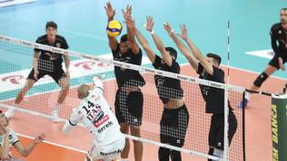 Impresa di Verona contro Trento, Civitanova vince al tie-break